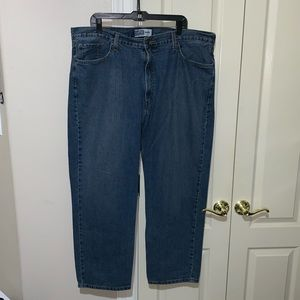 Signiture Levi Strauss Co. Mens Blue Jeans 42x30